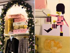 Prop Studios for Jack Wills | Christmas VM | Carnaby Street | #JackWills #Design #RetailInteriors #Christmas #VM #Retail #ChristmasVM #Store #StoreVM