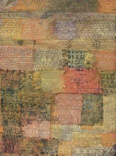 Florentine Villas -Paul Klee, (morna, 2011)