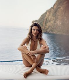 """Castaway"" - beach and summer vacation styling inspiration from Porter Magazine via Keep It Chic"
