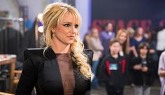 Britney at the X Factor Top 4 Elimination Show