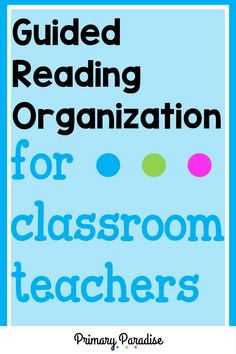 Small group organization that actually works and keeps your materials at your fingertips. Perfect for guided reading & intervention teachers! Small Group Organization, Guided Reading Organization, Guided Reading Activities, Back To School Organization, Teacher Organization, Kindergarten Reading, Teacher Hacks, Classroom Procedures, Classroom Teacher