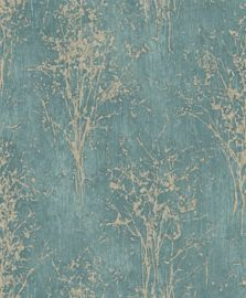 Floresta by Arthouse - Teal : Wallpaper Direct