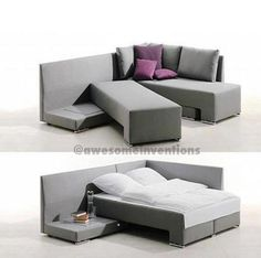 shareinventions: Awesome Couch Bed Design