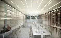 2014 Library Interior Design Award Winners Image Galleries IIDA The New Law Of Harlem NY
