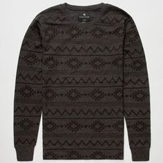 SHOUTHOUSE Dustin Stripe Mens Thermal