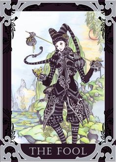 Card of the Day - The Fool - Sunday, July 23, 2017