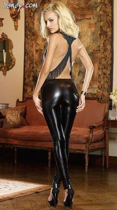 sexy shiny spandex madchen mit langen xxx