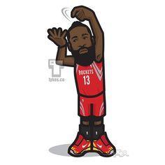 "James Harden ""Stirring the Pot"" Celebration Tyke. @jharden13 #JamesHarden #HoustonRockets #Rockets #HTown #Flickadawrist #NBA #NBAPlayoffs #basketball #NikeBasketball #tykes #MyTyke www.tykes.co"