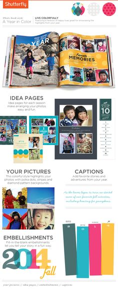 Relive this year for years to come. Photo books make the best gifts. make #holiday #gifts from Shutterfly with the photos you love.