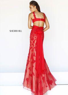 Sherri Hill 11081 Beaded Lace Gown  #cute #fashion #RissyRoos #style #prominspiration #prom #prom2k15 #promfashion #CrushingonRissyRoos #sherrihill