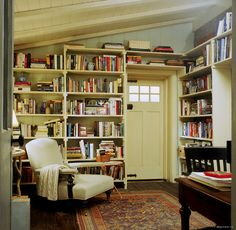 Want! I could just see coming in from the cold, grabbing a book, some hot chocolate or soup, and  taking a snooze!