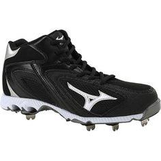 SALE - Mens Mizuno Vapor Baseball Cleats Black - BUY Now ONLY $85.00