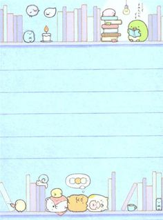 blue Sumikkogurashi animal in corner shelf mini Note Pad 3