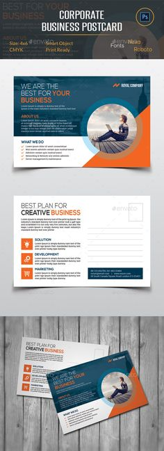 220 best postcard design images on pinterest in 2018 greeting card corporate business postcard cards invites print templates cheaphphosting Images