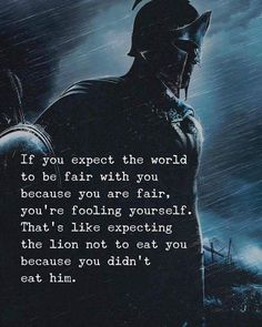 Positive Quotes : If you expect the world to be fair with you. - Hall Of Quotes Angst Quotes, Wise Quotes, Quotable Quotes, Words Quotes, Motivational Quotes, Inspirational Quotes, Sayings, Faith Quotes, Strong Quotes