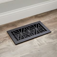 Lend an eye-catching update to your floors with the Farina Floor Register. Complete with adjustable louvers, this register is crafted of solid cast iron, making it durable enough to handle the traffic of a busy home. Wood Floor Finishes, Licensed Plumber, Cast Iron, It Cast, Light Hardwood Floors, Hardware, Flooring, Eye, Furniture