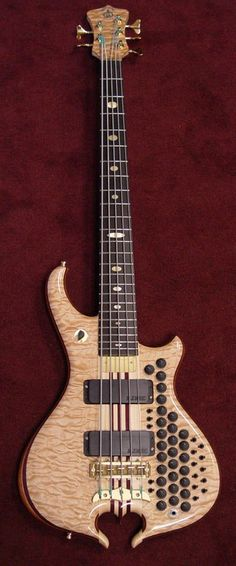 Alembic Mark King 5 Omega Custom - Now that is the coolest bass I've ever seen in my utmost entirety.