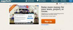 Piggybackr - plataforma de crowdfunding para crianças.