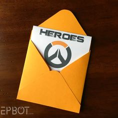 EPBOT: DIY Overwatch Pop-Up Card - Free Templates!