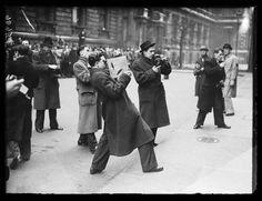 Take better photographs (Press photographers, 1938, Edward George Malindine, National Media Museum)