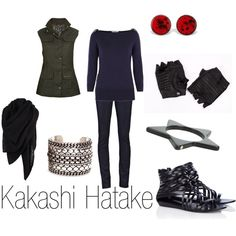 """Kakashi Hatake"" by ja-vy on Polyvore"
