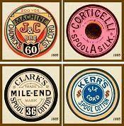 Vintage Labels Thread spool printable labels Zangs Clark look at the bottom left one! Images Vintage, Vintage Design, Printable Labels, Printable Paper, Printable Vintage, Free Printables, Vintage Labels, Vintage Ephemera, Images Alphabet