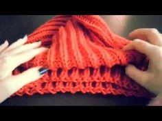 Модная АНГЛИЙСКАЯ резинка (ПОЛУАНГЛИЙСКАЯ) спицами. Современное вязание. - YouTube