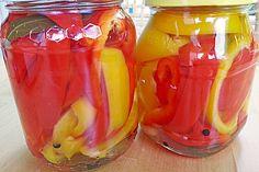 Eingelegte Paprika (Rezept mit Bild) von hobbykoechin   Chefkoch.de