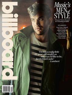 2015 8 29 VJBrendan.com - Billboard Magazine Shoot - Adam Lambert
