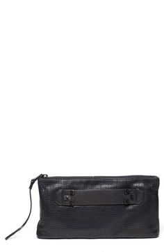 She + Lo 'Next Chapter' Leather Clutch | Nordstrom