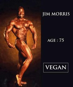 Jim Morris vegan bodybuilder This has nothing to do with dressing he is just fit for 75 yrs old this is amazing he looks really younger; Vegan Memes, Vegan Quotes, Vegan Humor, Famous Vegans, Why Vegan, Vegan Lifestyle, Going Vegan, Bodybuilder, Crossfit