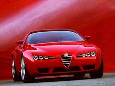 Alfa Romeo Brera Sv Pictures, Photos, Information, Prices, Specifications Alfa Romeo Brera, Chevrolet Corvette, My Dream Car, Dream Cars, Aston Martin, Alfa Romeo Spider, Fiat Panda, Classy Cars, Geneva Motor Show