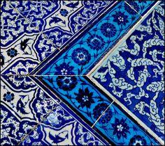https://flic.kr/p/4cb7Jj | Topkapi tiles.... | loved the pattern and beautiful blue colors on these tiles...  :-)  Istanbul Turkey