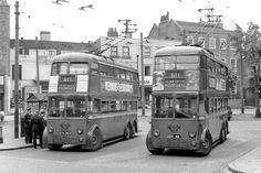 Trolley at Highgate Camden London, London Bus, Old London, Hampstead London, Routemaster, Road Rage, Old Tractors, London Transport, Alfa Romeo