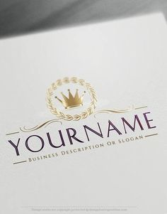 Create a logo free online crest crown logo templates create a crown logo images king company logos business logosfree flashek Images