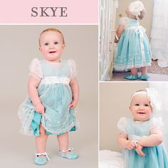 Skye First Birthday Party Dress from One Small Child