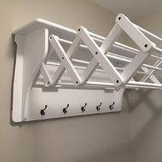 "Fantastic ""laundry room storage diy shelves"" info is readily available on our website. Take a look and you wont be sorry you did. Laundry Rack, Laundry Room Organization, Laundry Storage, Small Storage, Diy Storage, Storage Ideas, Small Shelves, Storage Shelves, Laundry Rooms"