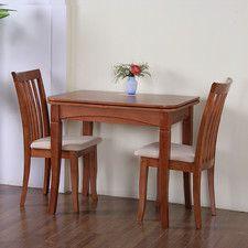 G&P Furniture Windsor House 3 Piece Dining Set