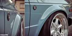 Slammed & Fitted / Clean & Simple Volkswagen MK2 Golf