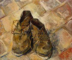 shoes, 1888 vincent van gogh 45cm x 55cm