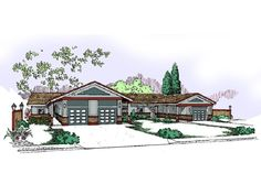 013M-0017: Triplex Home Plan