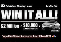 pch sweepstakes enter to win the 1000000000 publishers clearing house sweepstakes - PIPicStats Enter To Win, I Win, Hallmark Homes, Win For Life, Forever Life, Prize Giveaway, Publisher Clearing House, Online Sweepstakes, Winning Numbers