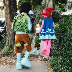 Justin Timberlake Dresses Up as His Trolls Character With His Family For Halloween