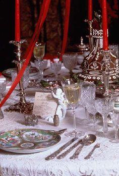 Russian table setting #AnnaKarenina | Anna Karenina Inspired Recipes ...