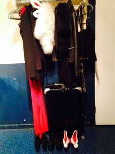 December 21, 2013: Festive stage gear at the ready!