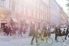An Indie Glam Wedding in Finland Green Wedding Shoes, Helsinki, Newlyweds, Finland, Indie, Street View, Travel, Just Married, Viajes