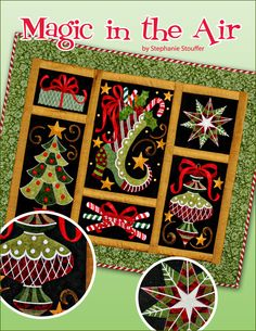 Magic in the Air by Stephanie Stouffer - Christmas embroidery designs