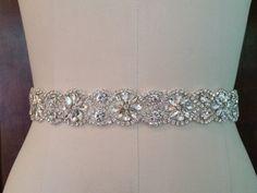 We're making beautiful wedding sash belts & garters by BellaBellaLaBella Wedding Dress Types, Wedding Sash Belt, Wedding Belts, Wedding Shoes, Wedding Dresses, Sash Belts, Crystal Wedding, Cute Jewelry, Bridal Accessories