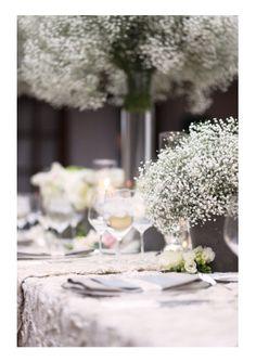 Trendy Wedding, blog idées et inspirations mariage ♥ French Wedding Blog: {jolie palette} Neutre : dentelle et gypsophile