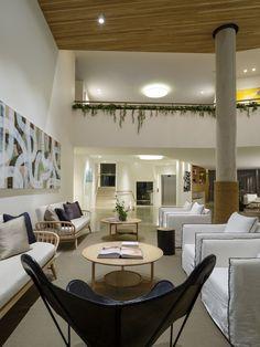 Interiors | alwill  #wood #foyer #interiors #artwork  #hotel